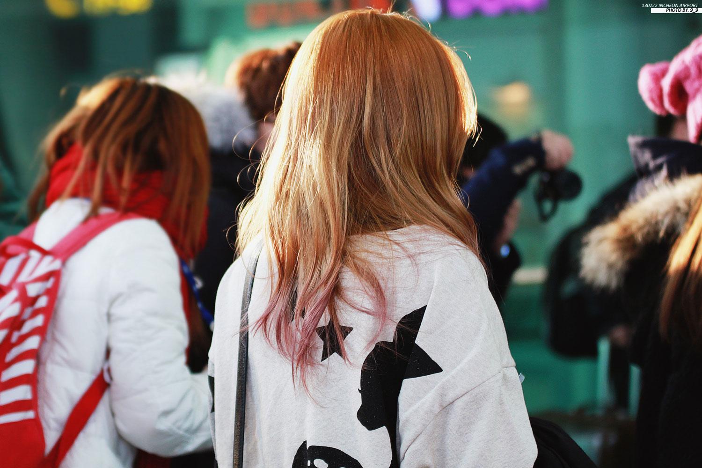 Taeyeon Incheon Airport to Japan