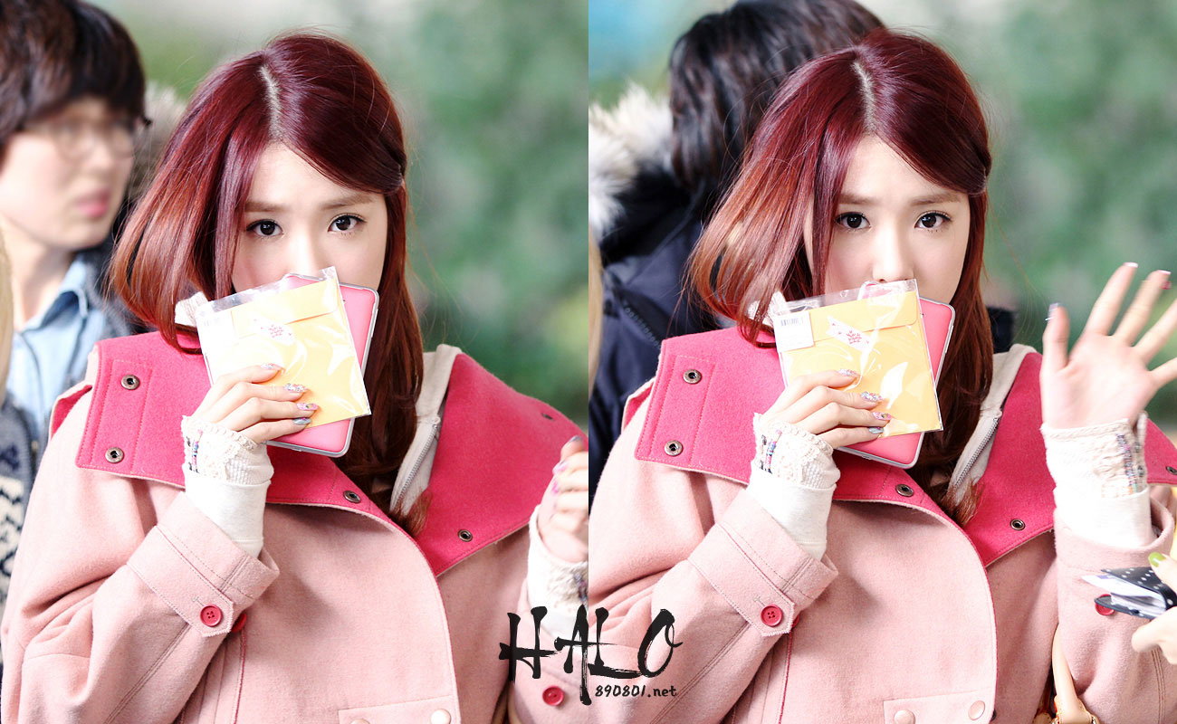 Tiffany @ Gimpo Airport 130204