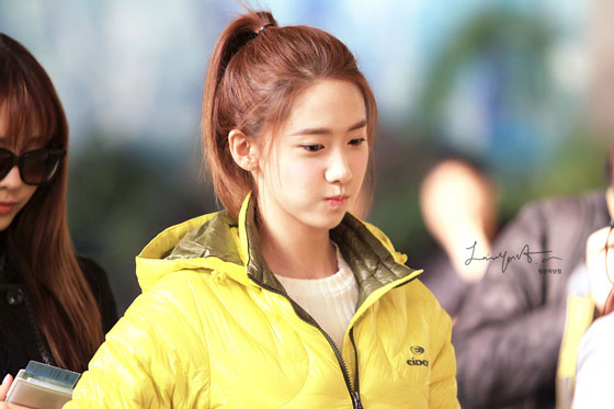 SNSD Yoona Gimpo Airport Eider fashion