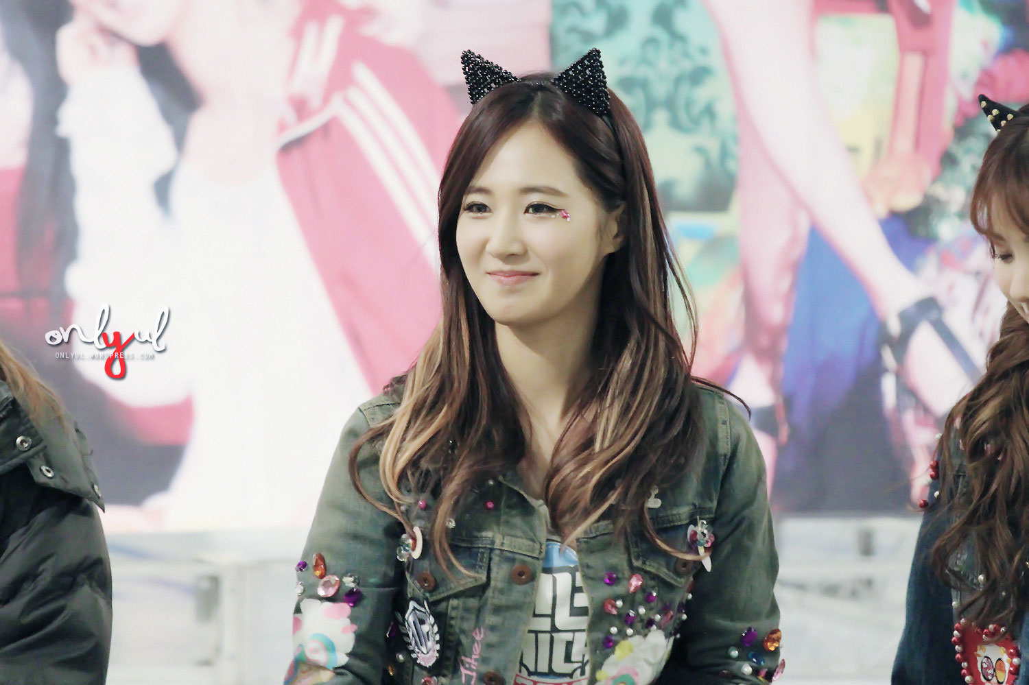 Snsd Yuri Times Square fan signing event