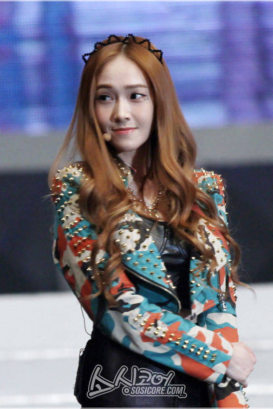 SNSD Jessica Hong Kong Asian Pop Music Festival 2013