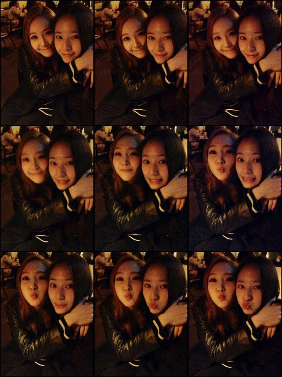 Jessica UFO & Krystal selcas