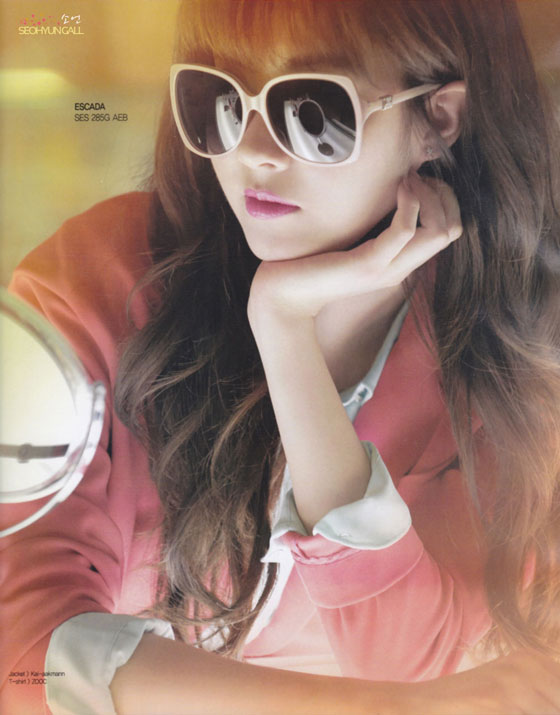 Snsd Seohyun Escada Instyle Magazine