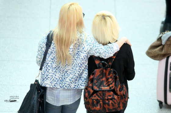 Hyoyeon Sunny Incheon Airport style