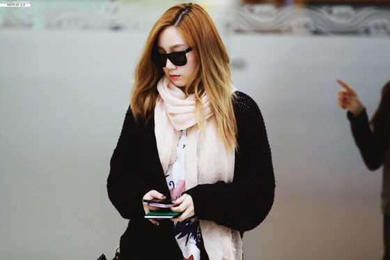 SNSD Taeyeon airport style