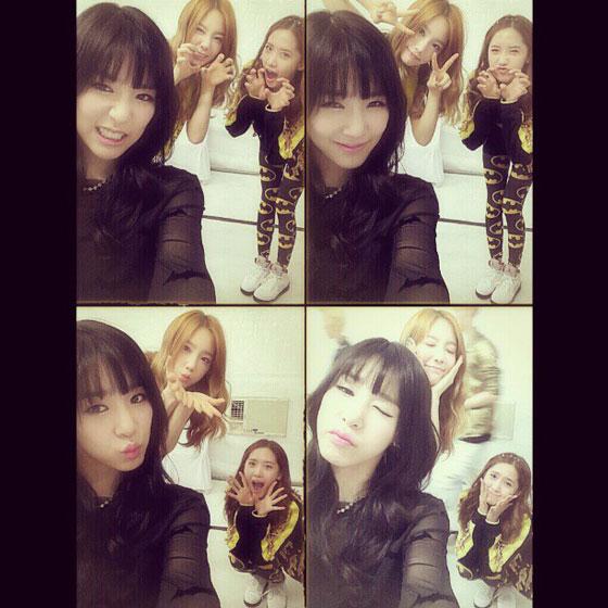 Taeyeon Tiffany Yoona selca