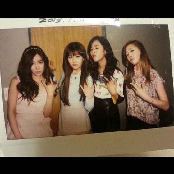 Taeyeon Tiffany Seohyun Yuri selca