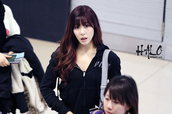 Snsd Tiffany Gimpo Airport fashion