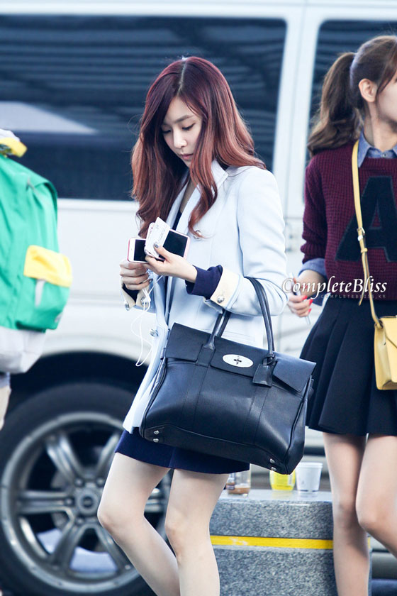SNSD Tiffany Incheon Airport OL style