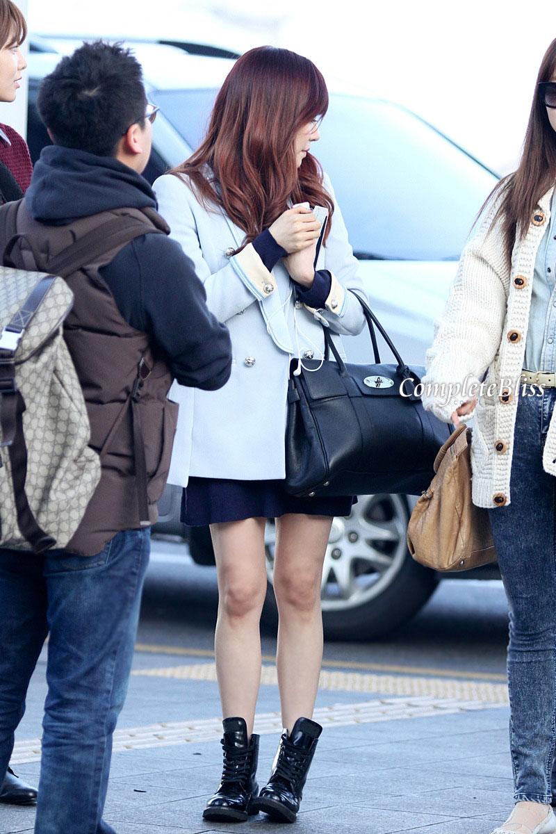 Tiffany @ Incheon Airport 130308