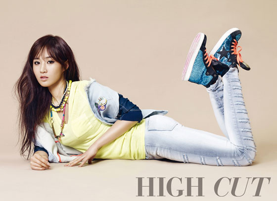 SNSD Yuri High Cut Magazine