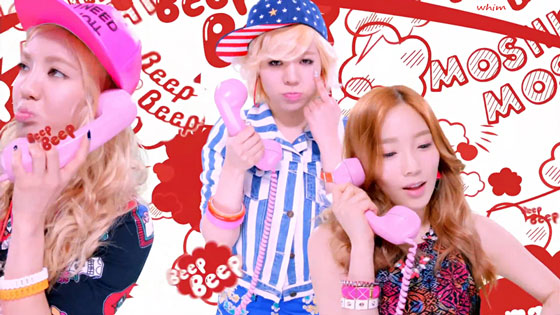SNSD Beep Beep Japanese MV