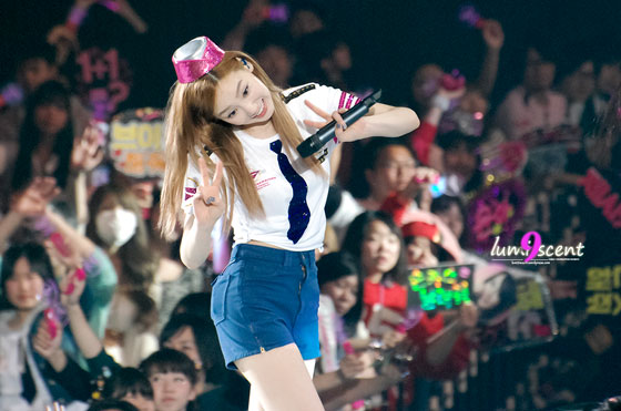 SNSD Taeyeon Girls Peace Tour in Osaka