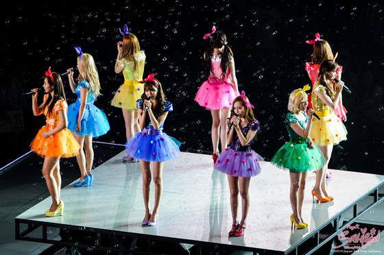 SNSD Saitama Girls Peace Japan Tour