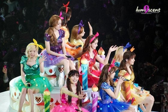 Girls Generation Girls Peace Tour in Osaka
