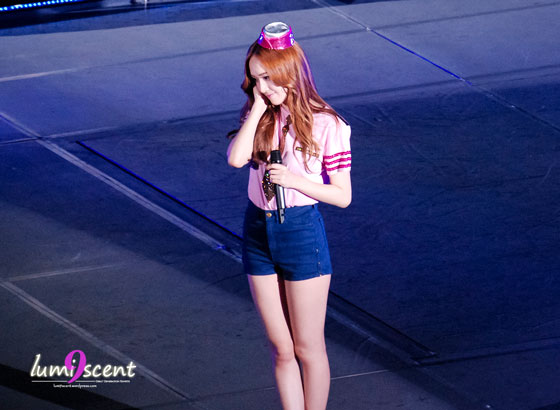 SNSD Jessica Girls Peace Tour in Osaka