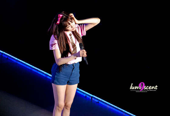SNSD Tiffany Girls Peace Tour in Osaka