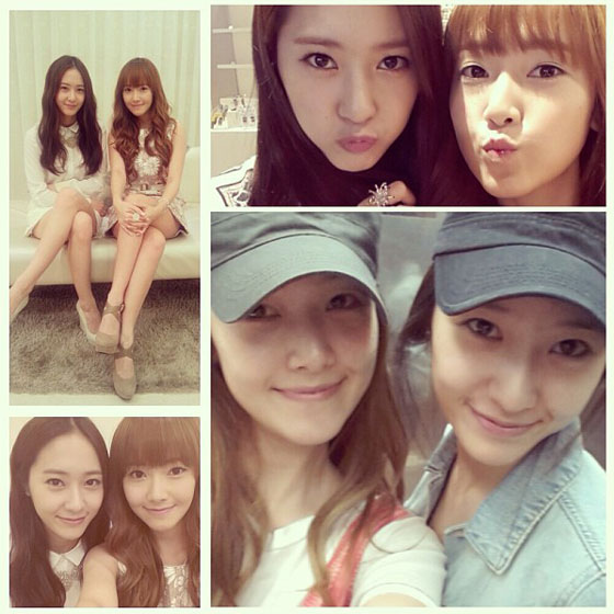 fx Krystal wishes SNSD Jessica happy birthday