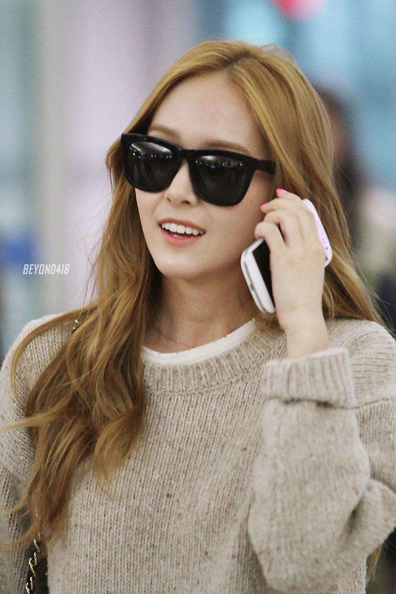 Jessica Incheon Airport 130408