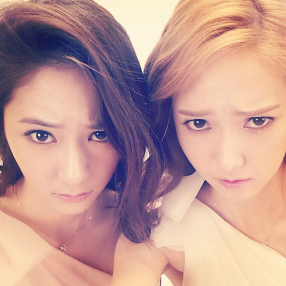Snsd Jessica fx Krystal Stonehenge selca