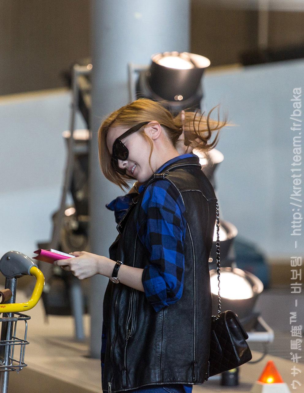 Jessica @ Paris Charles de Gaulle Airport