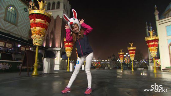 SNSD Jessica Running Man Everland