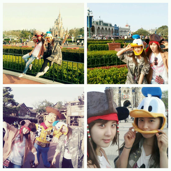 SNSD Seohyun Yuri Tokyo Disneyland