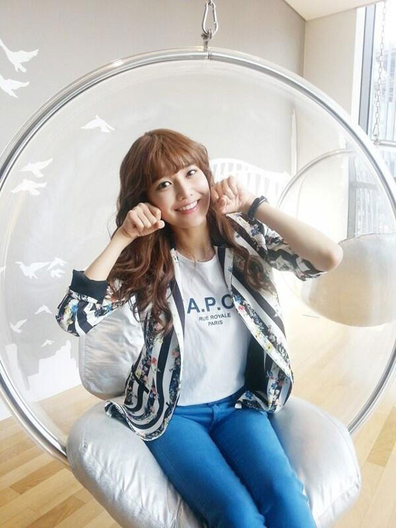 SNSD Sooyoung filming Dating Agency