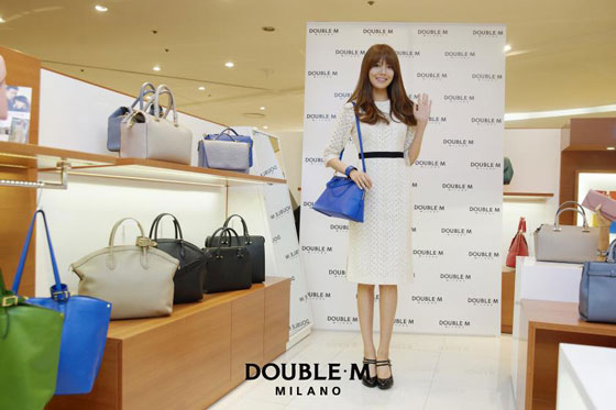 SNSD Sooyoung DoubleM store visit