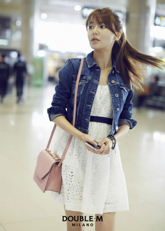SNSD Sooyoung Double M airport style