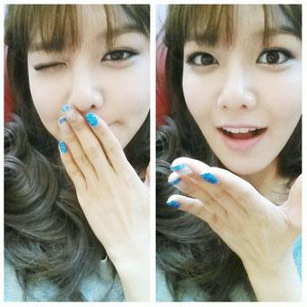 SNSD Sooyoung aegyo selca