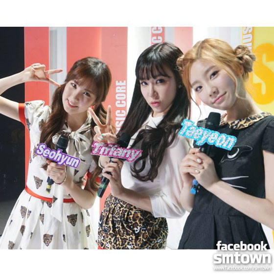 SNSD TaeTiSeo Music Core final show
