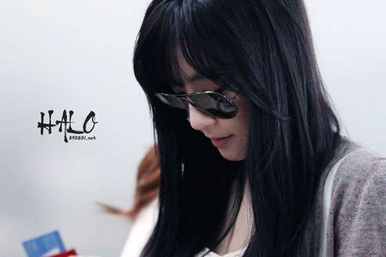 SNSD Tiffany Incheon Airport fashion