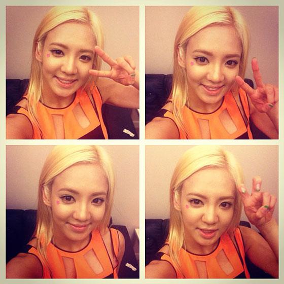 SNSD Hyoyeon Thailand True selca