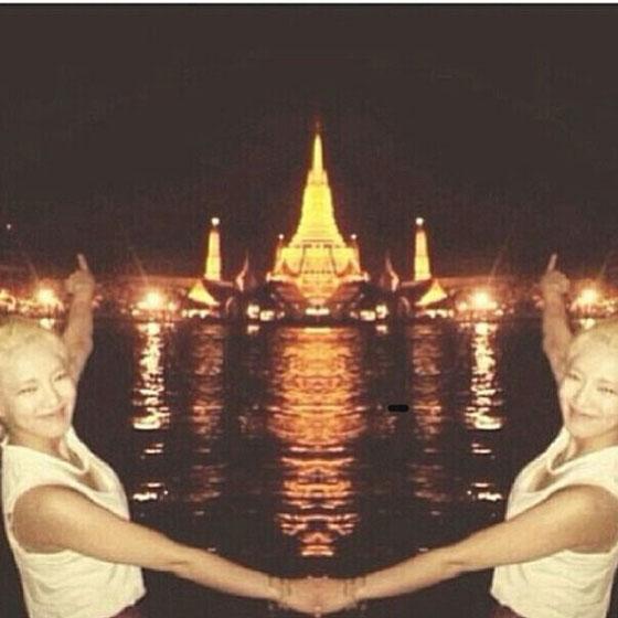SNSD Hyoyeon Instagram Bangkok
