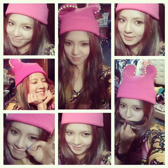 Girls Generation Hyoyeon Instagram selca