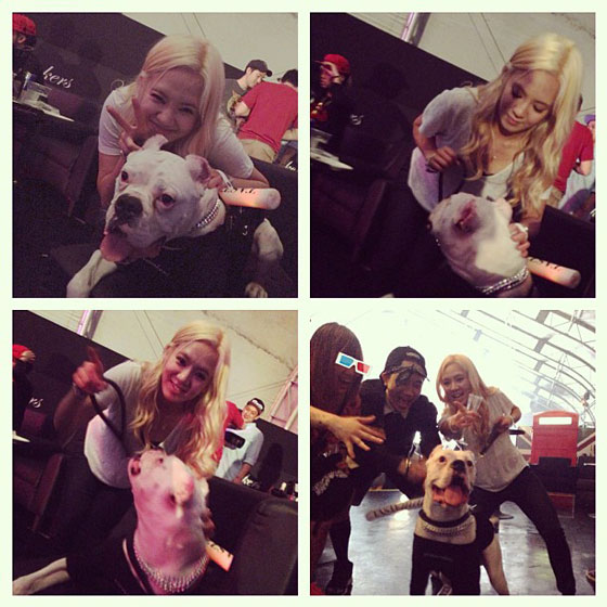 SNSD Hyoyeon afraid of dogs