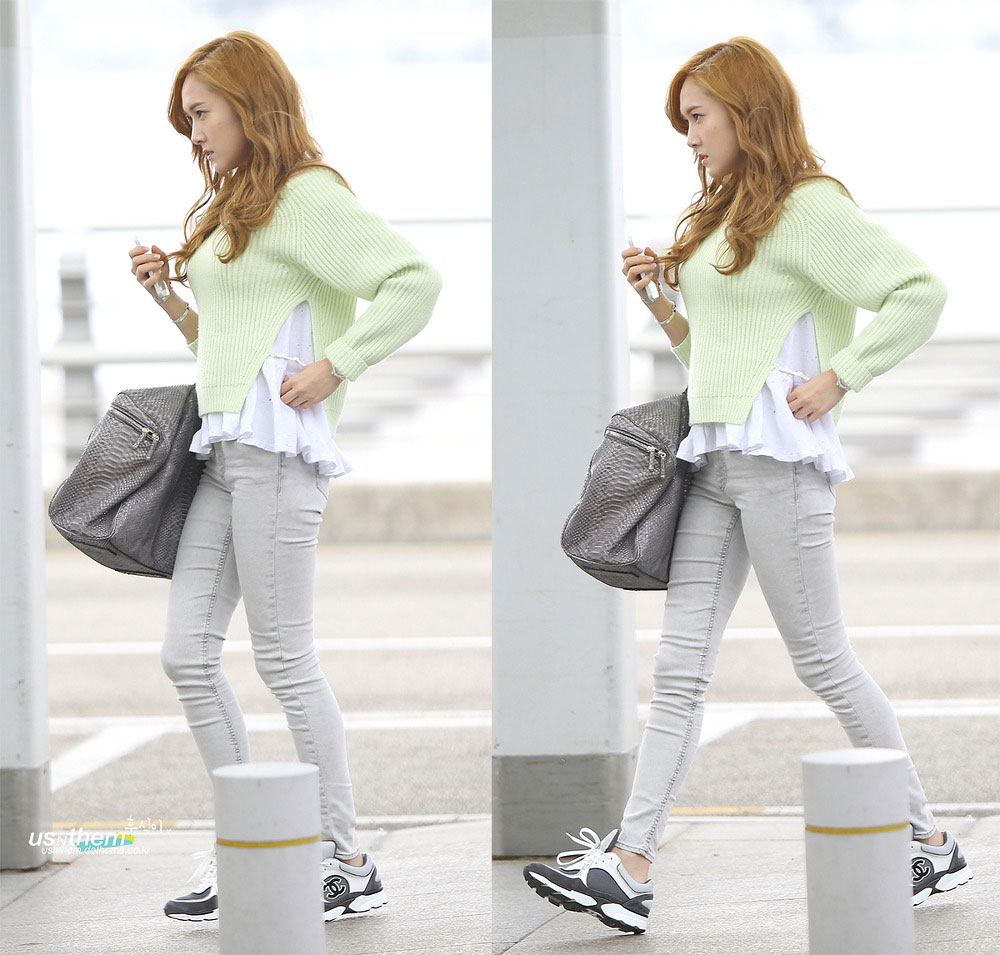 Jessica Incheon Hk Airport Snsd Pics
