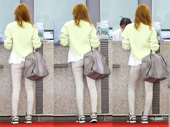 SNSD Jessica Incheon airport style
