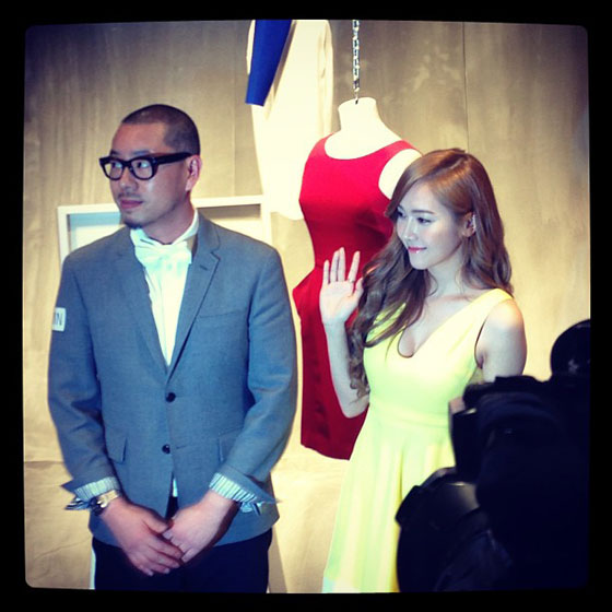 SNSD Jessica Demin IT Hysan Hong Kong