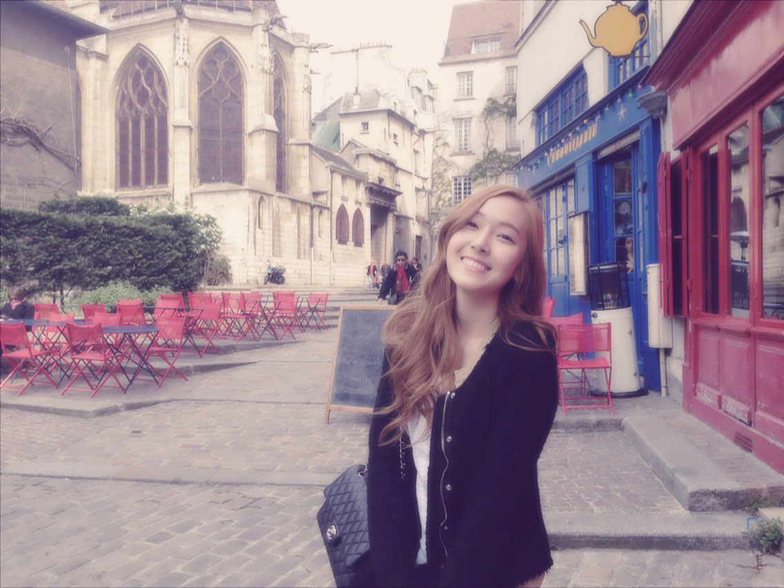 Jessica Paris selca