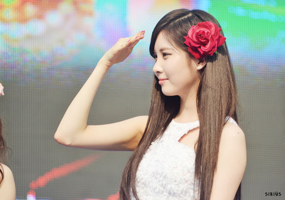 SNSD Seohyun Kyungbock High School Festival 2013