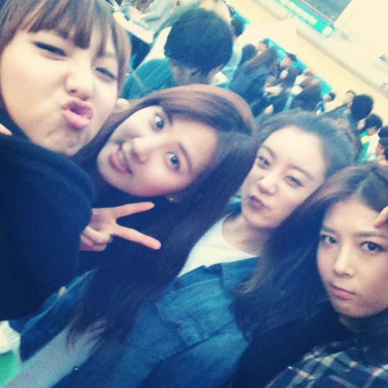 Seohyun, Min, Lim, Yoobin @ Snoop Dogg Concert