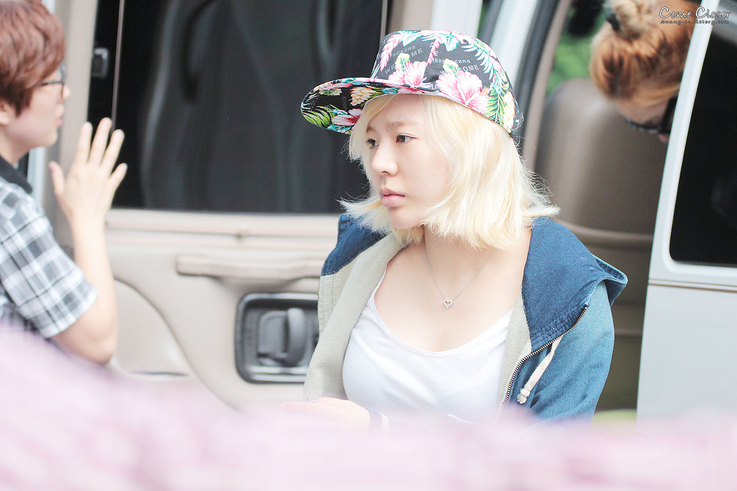 Sunny Music Bank arrival 130517