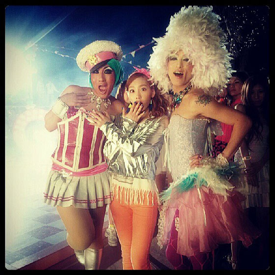 Taeyeon Love Girls drag queens