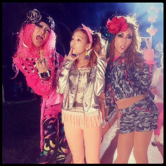 SNSD Taeyeon Japanese drag queens