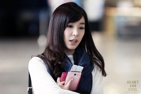 Girls Generation Tiffany Gimpo Airport