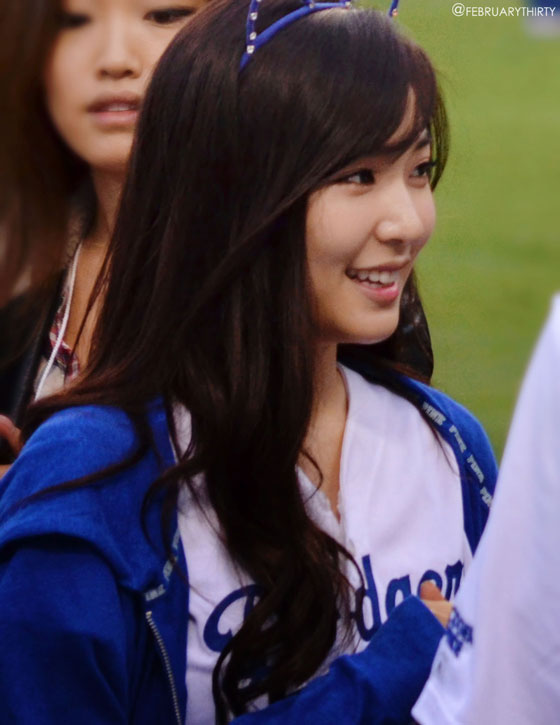 SNSD Tiffany LA Dodgers fan meeting
