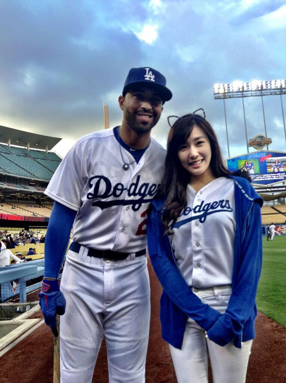 SNSD Tiffany Matt Kemp