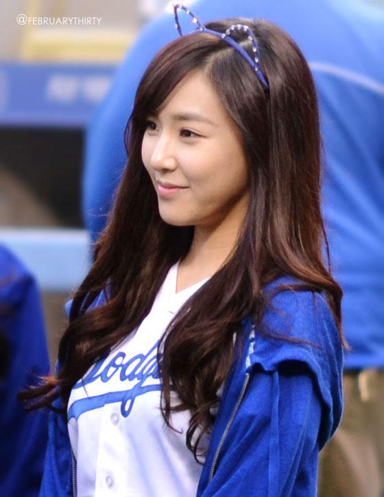 SNSD Tiffany LA Dodgers fan meeting